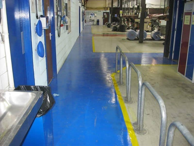 Epoxy coatings 16 ifc for Commercial flooring contractors