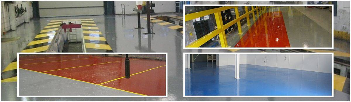 Industrial Flooring - Colour Chart
