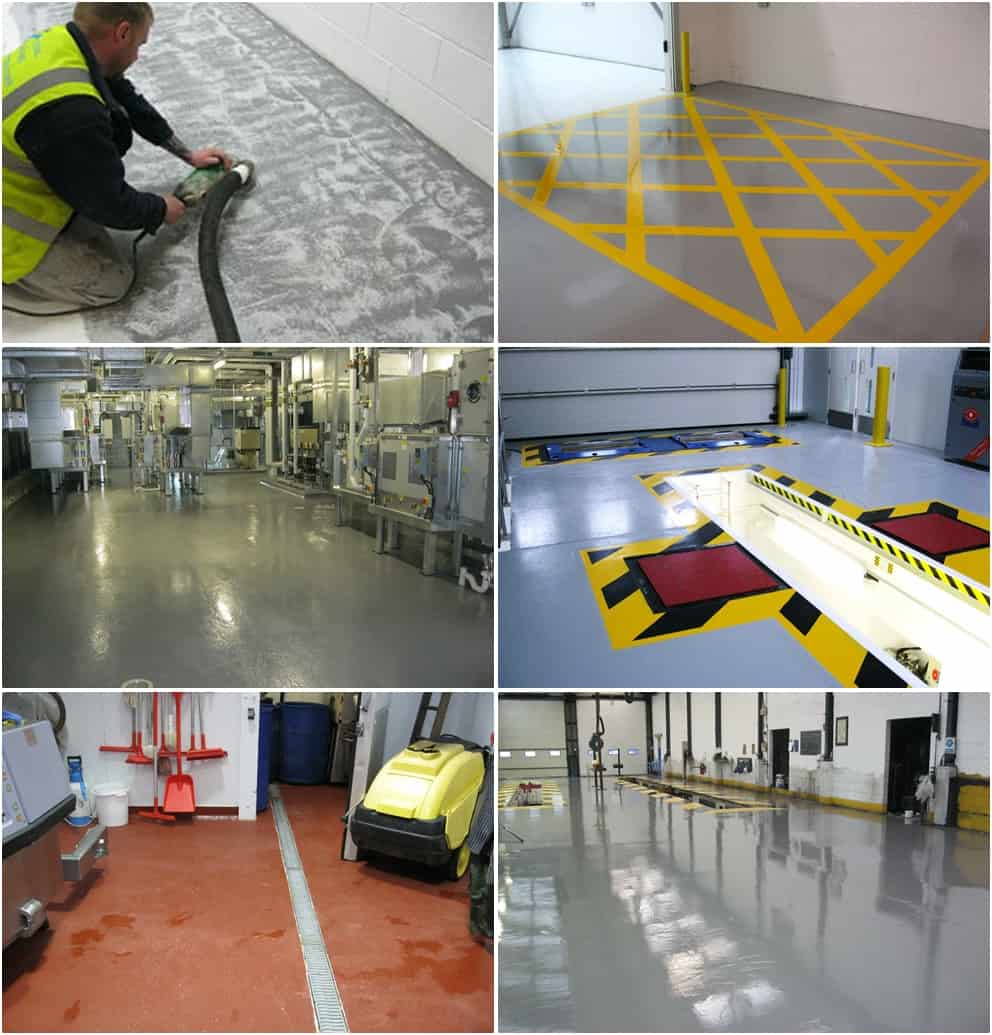 Industrial Flooring Contractors Shrewsbury