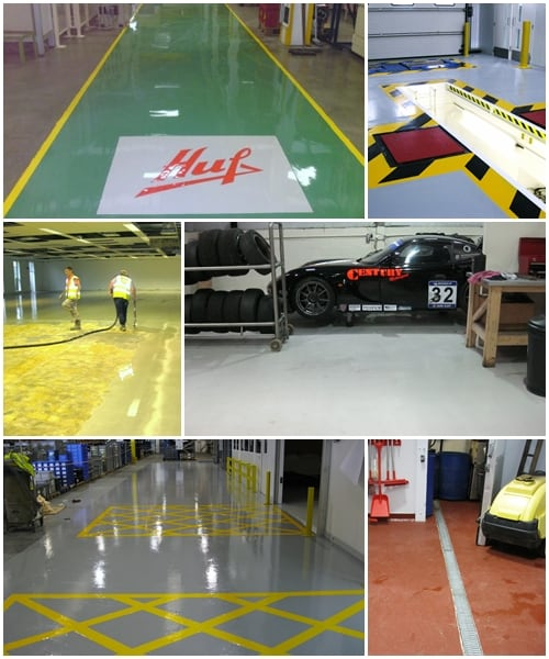 Industrial Flooring Sectors