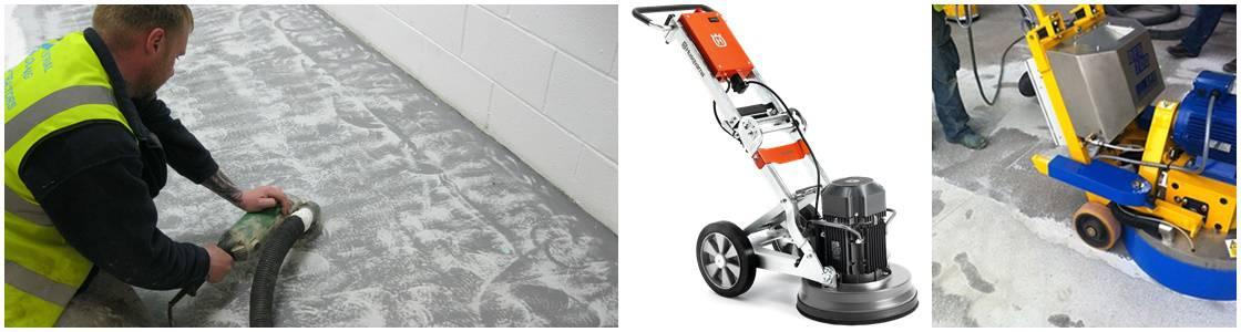 Diamond grinding - Industrial Floor Preparation UK