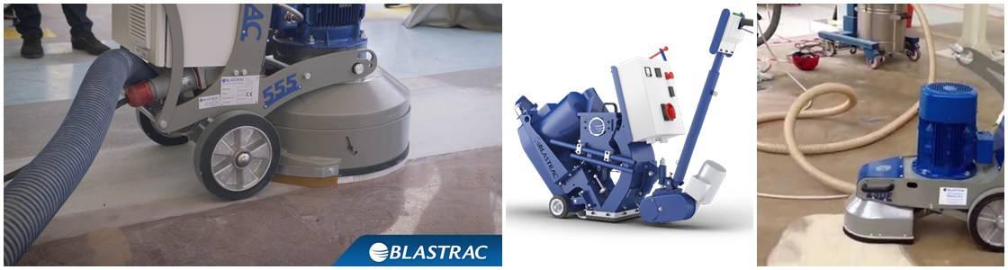 Dust Free (Captive) Shot Blasting - Industrial Floor Preparation