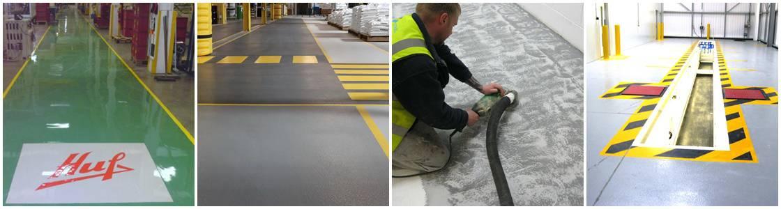 Industrial Flooring Warwickshire - Resin Flooring Warwickshire UK