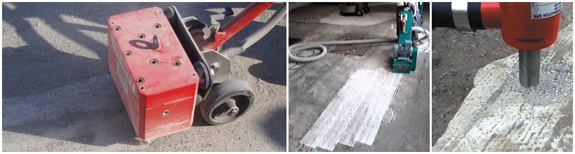 Scabbling & Planing Industrial Flooring Preparation