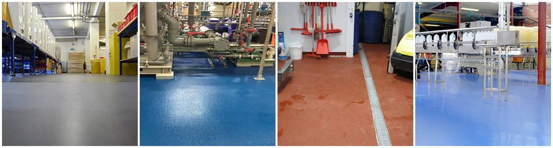 polyurethane flooring coating - examples