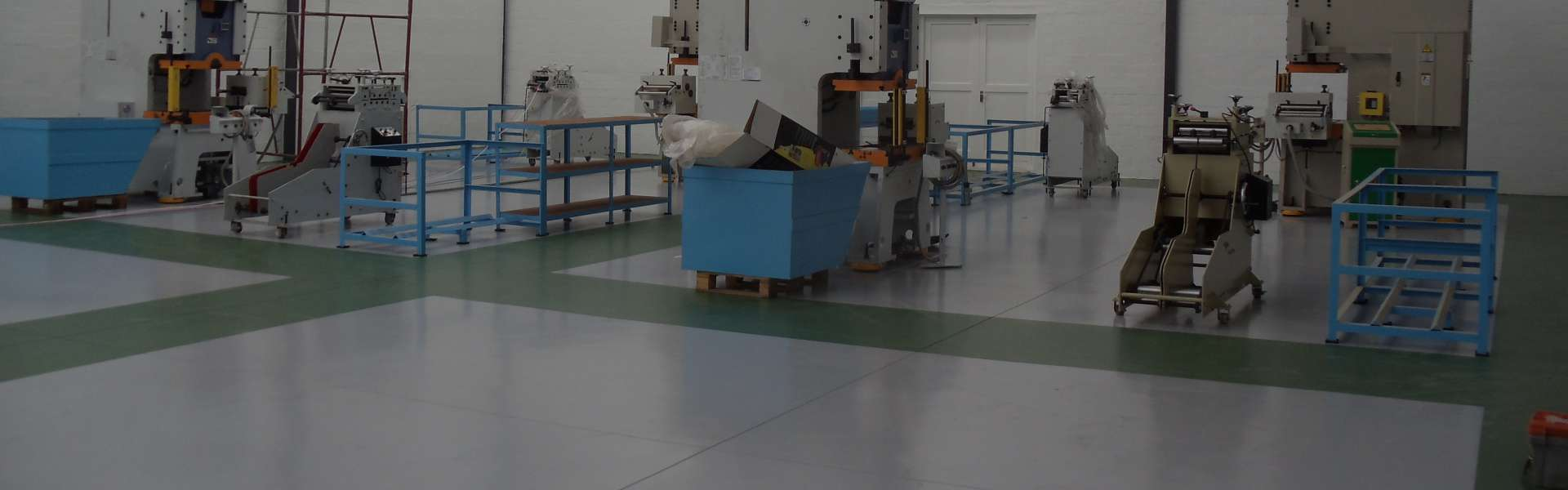 Factory Floor - Epoxy Resin Flooring